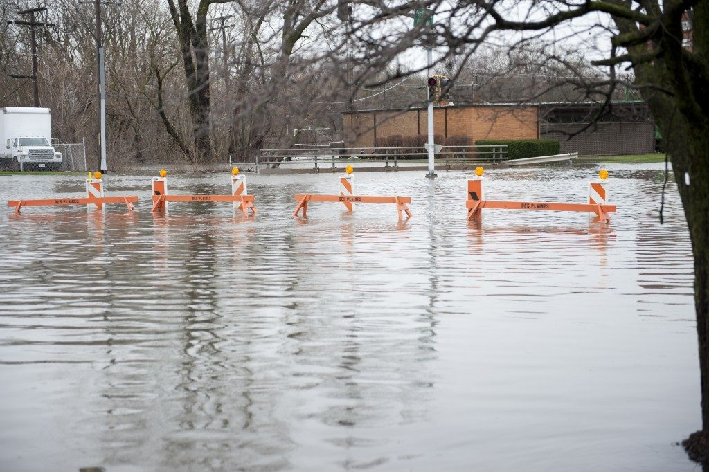 street flooding post-storm